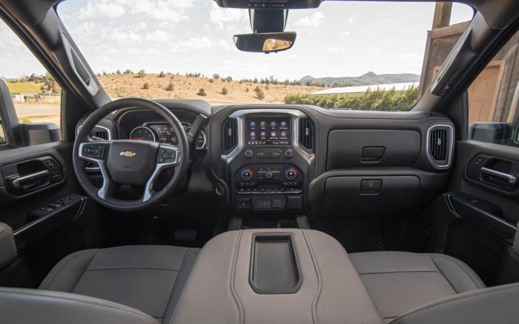 2022 Chevrolet Silverado 2500 HD Interior