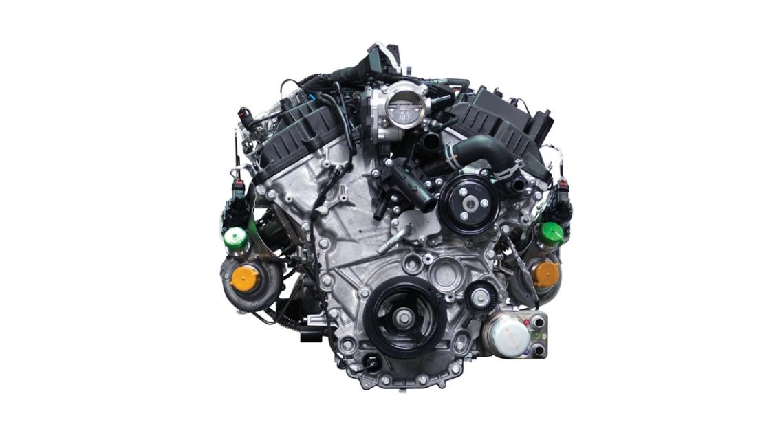 2022 Ford F-150 Engine