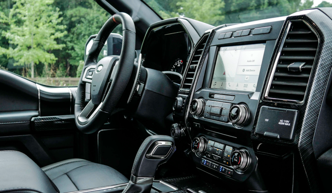 2022 Ford Raptor Interior
