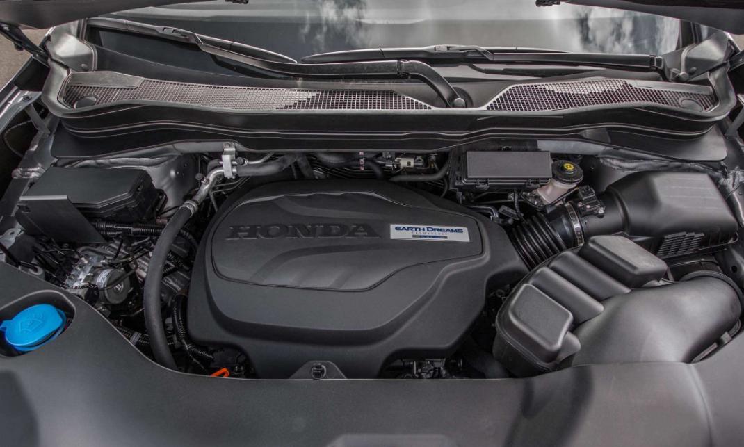 2022 Honda Ridgeline Type R Engine