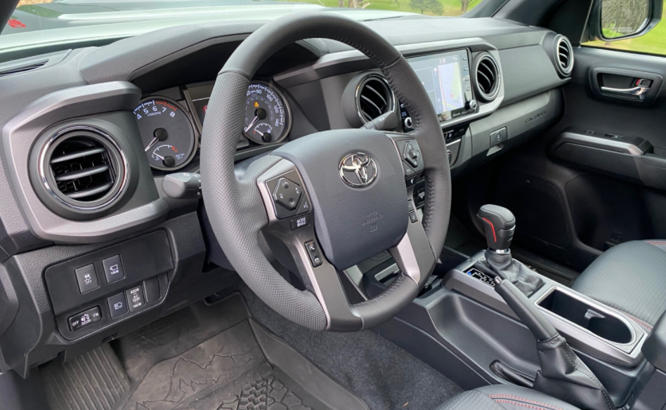 2022 Toyota Tacoma TRD Pro Interior