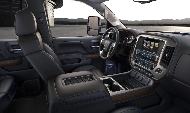 2022 GMC Sierra 2500HD Interior