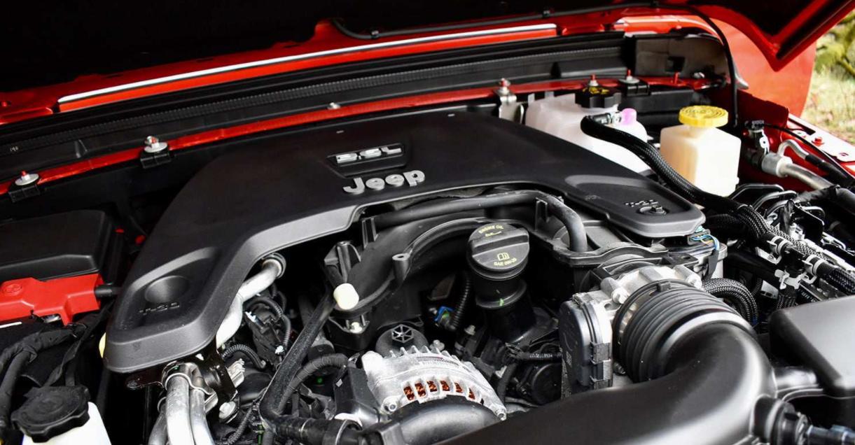 2022 Jeep Gladiator Engine