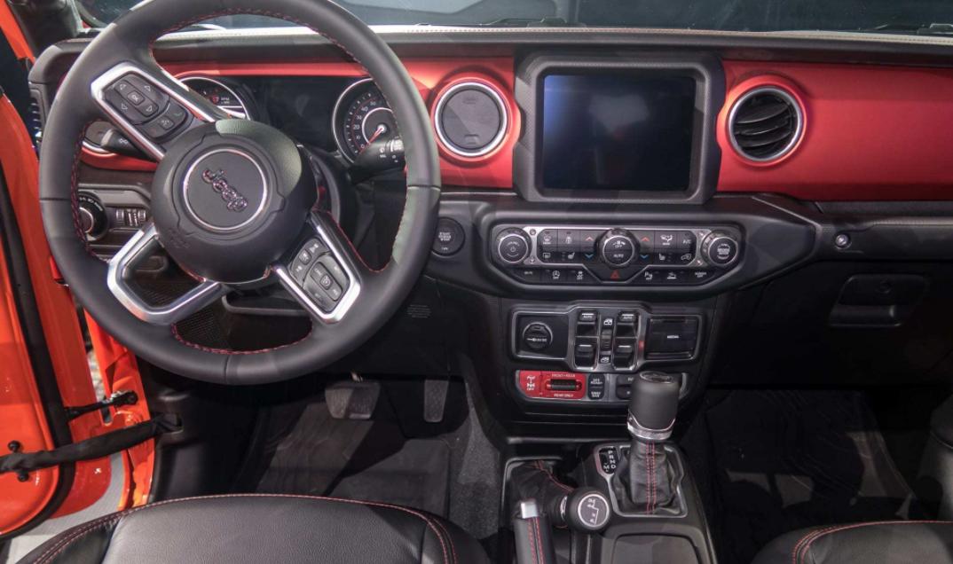 2022 Jeep Gladiator Interior
