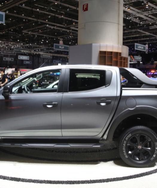 2022 Fiat Fullback Exterior