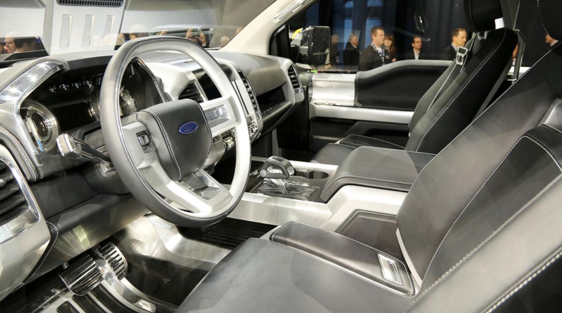 2022 Ford Atlas Interior