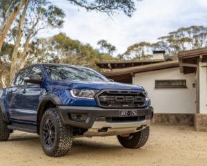 2022 Ford Ranger Raptor Exterior