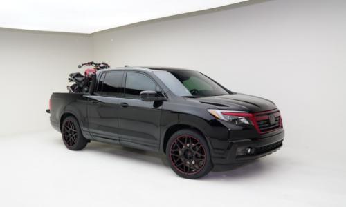 2022 Honda Ridgeline Black Edition Exterior