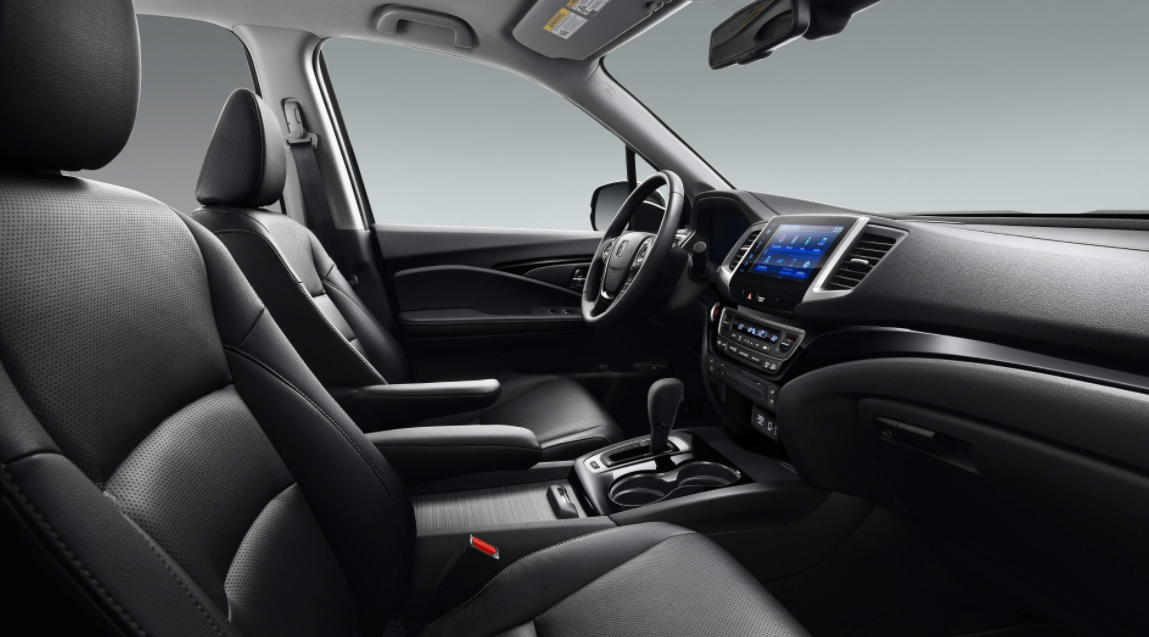 2022 Honda Ridgeline Black Edition Interior