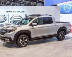 2022 Honda Ridgeline Hybrid Exterior