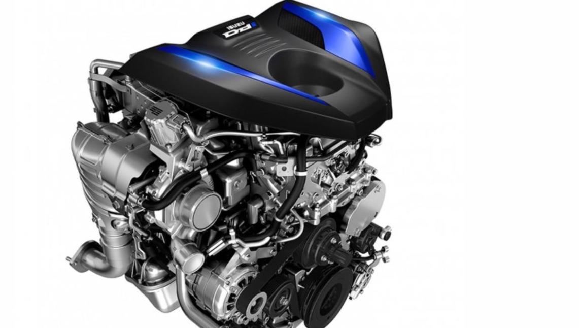 2022 Isuzu D-Max Engine