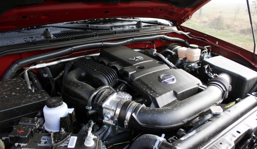 2022 Nissan Frontier Engine