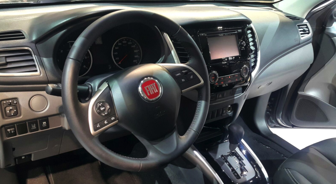 2022 Fiat Fullback Interior