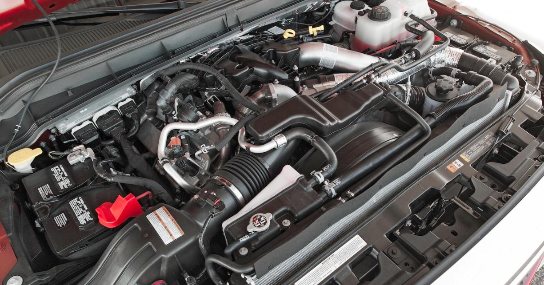 2022 Ford F350 Engine