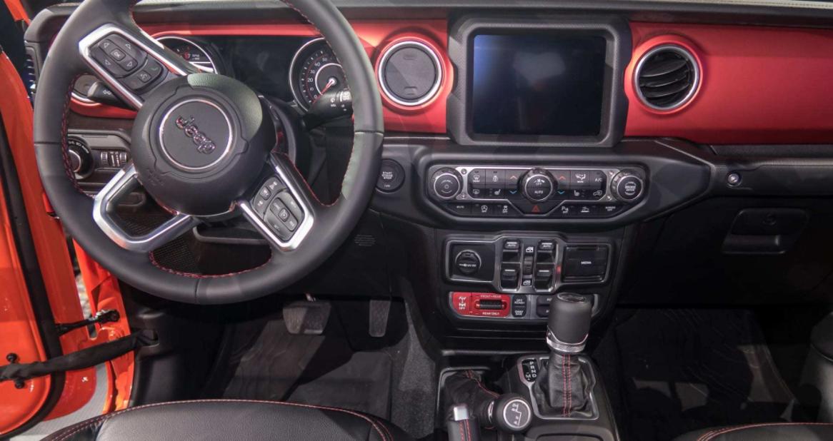 Jeep Gladiator 2023 Interior
