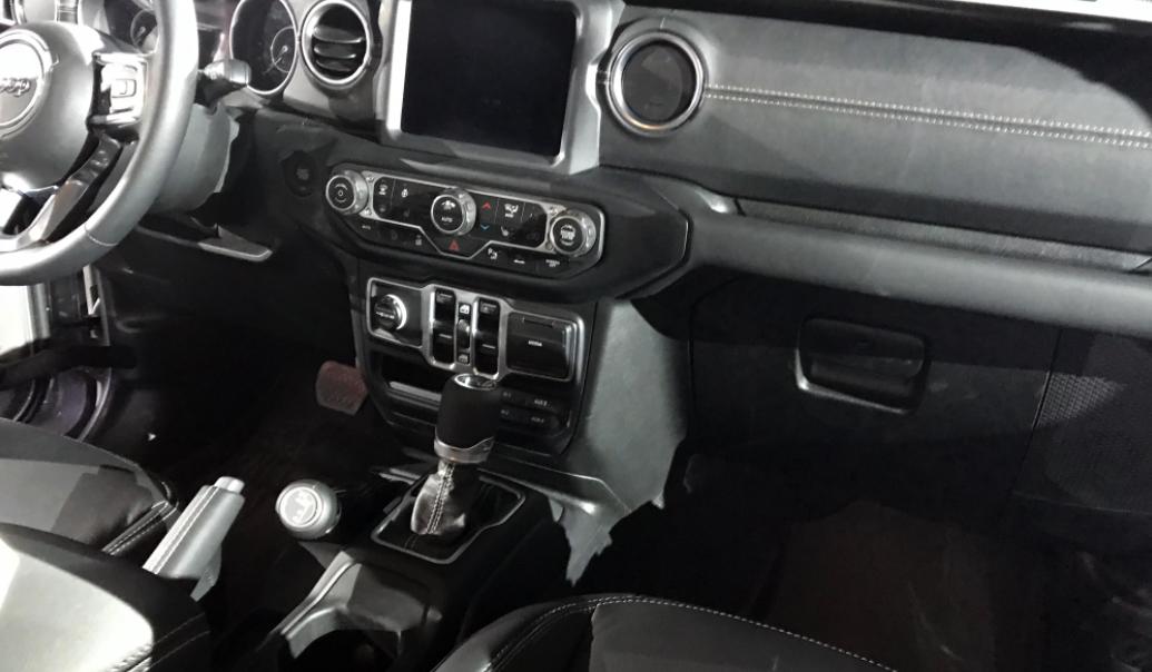 2023 Jeep Gladiator Interior