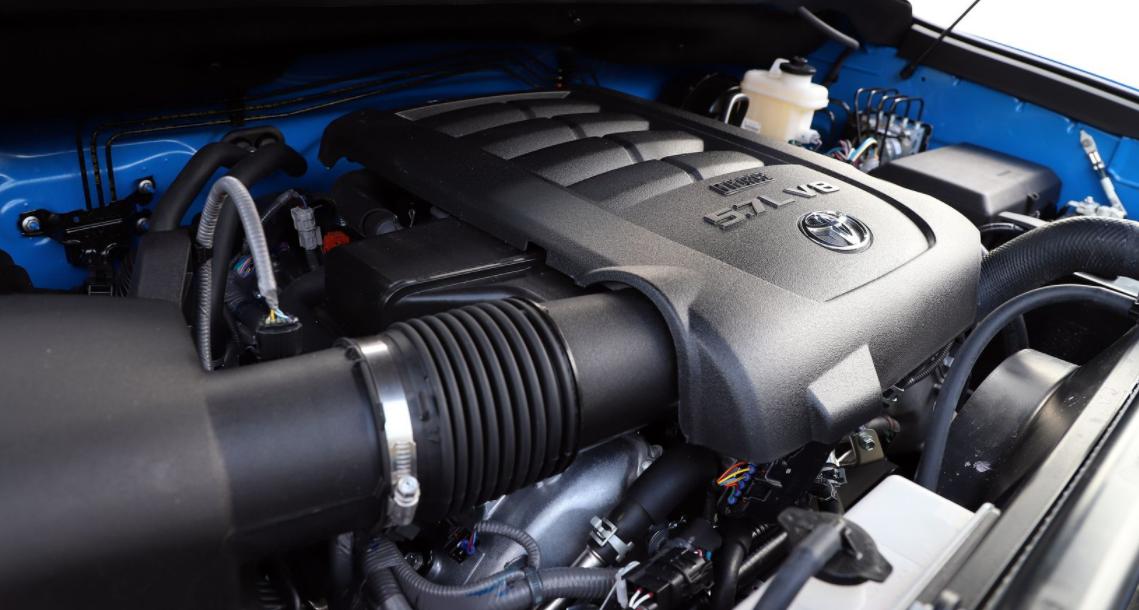 2023 Toyota Tundra TRD Pro Engine