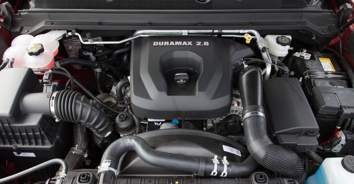 2023 Chevrolet Colorado Engine