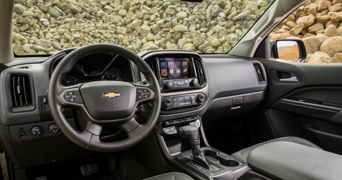 2023 Chevrolet Colorado Interior