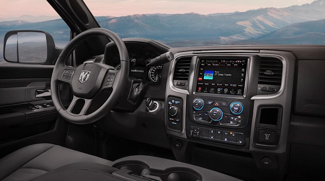 2023 RAM 2500 Power Wagon Interior