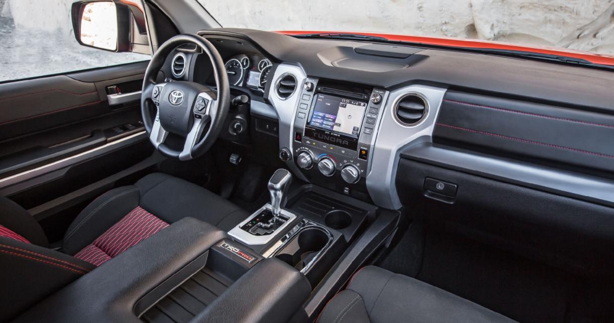 2023 Toyota Tundra Hybrid Interior