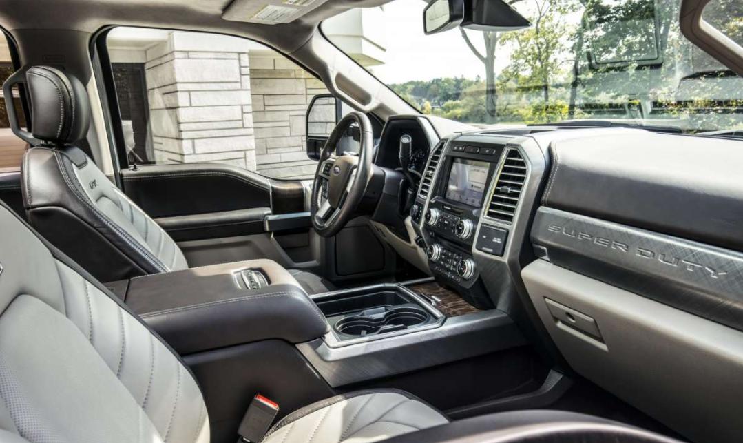 2023 Ford F 450 Interior