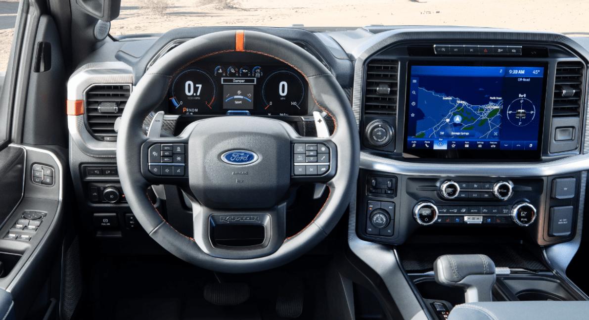 2023 Ford F-150 Raptor Interior