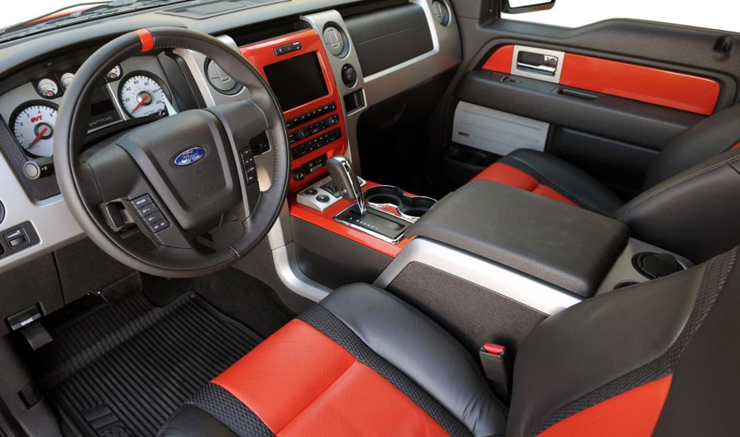 2023 Ford F150 Raptor Interior