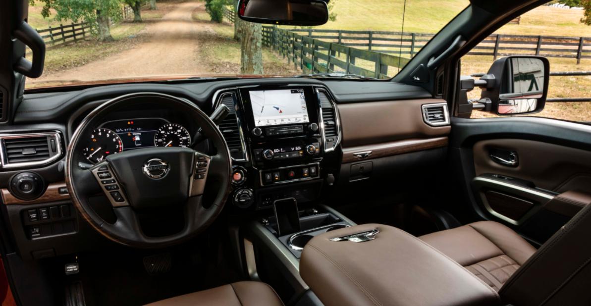 2023 Nissan Titan Nismo Interior