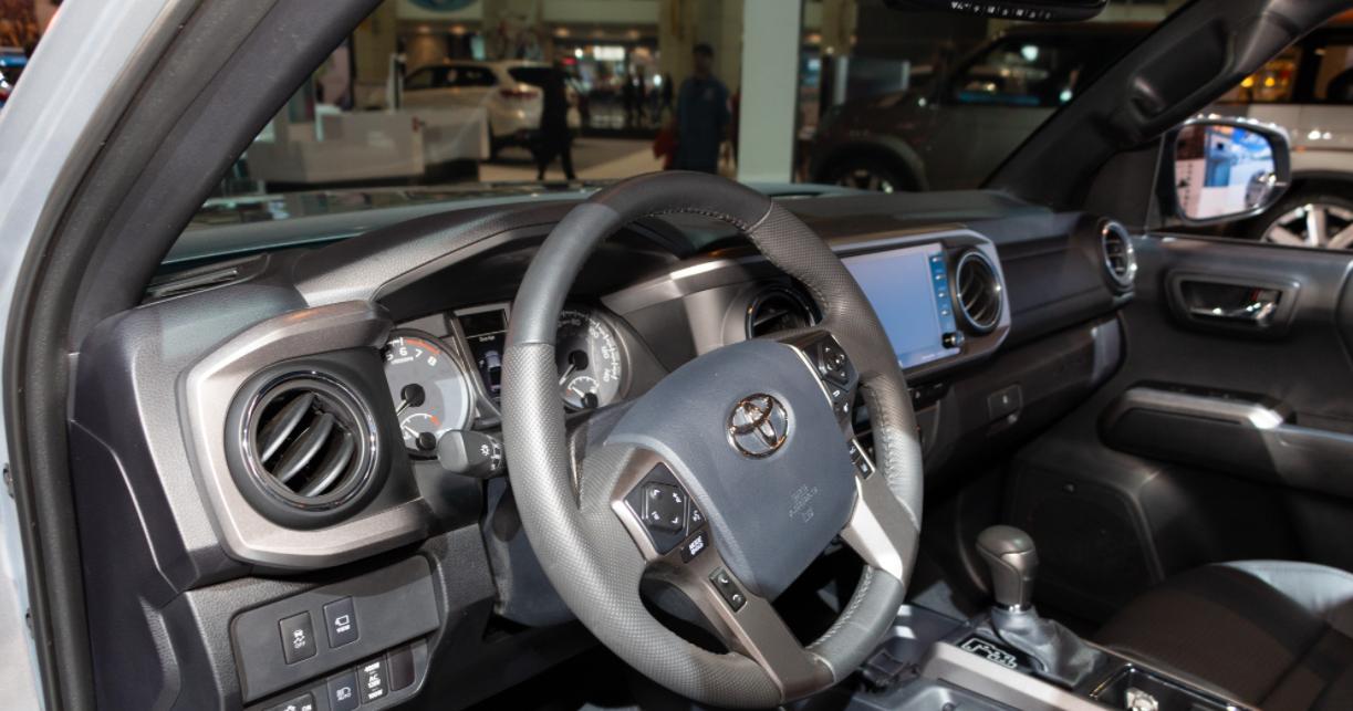 2023 Toyota Tacoma Trail Edition Interior