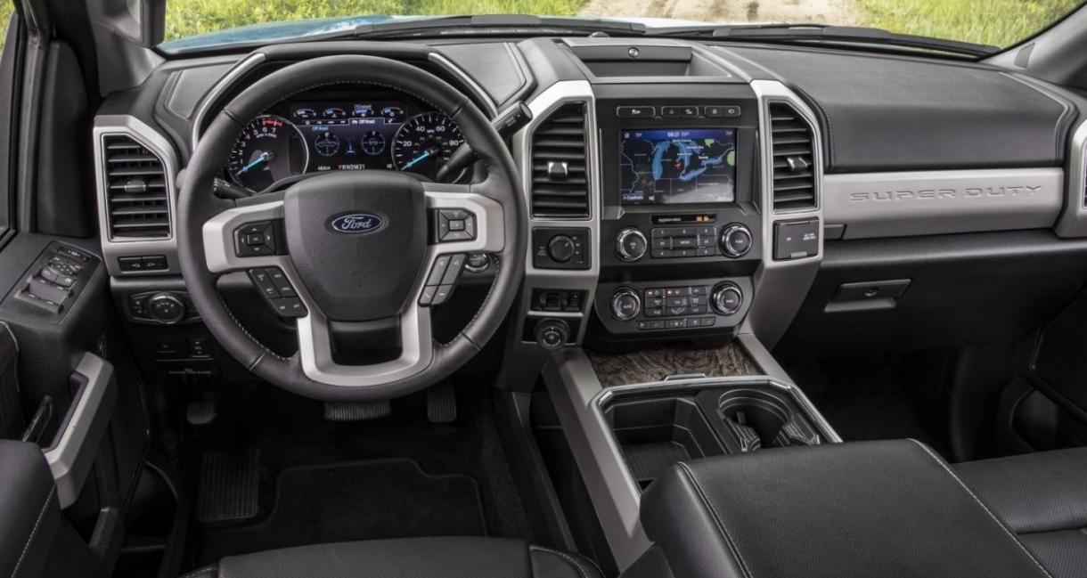 2023 Ford F250 Super Duty Interior