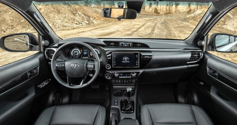 2023 Toyota Hilux GR Sport Interior