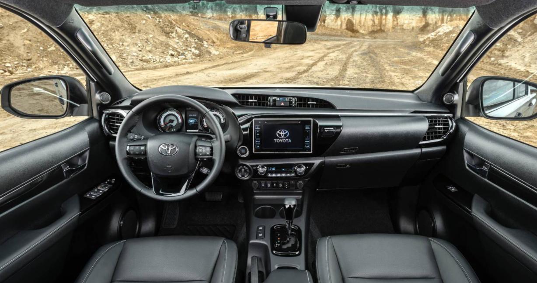 New 2023 Toyota Hilux Interior