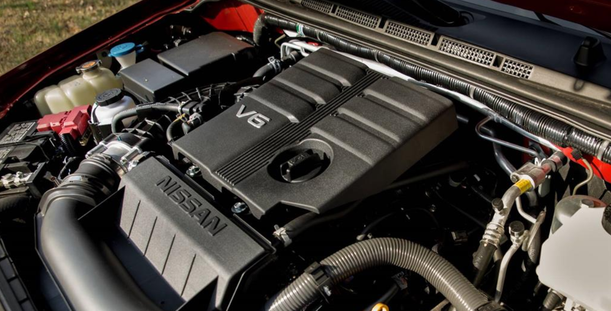 2023 Nissan Frontier NISMO Engine