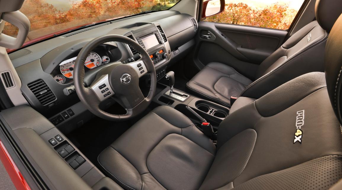 2023 Nissan Frontier NISMO Interior