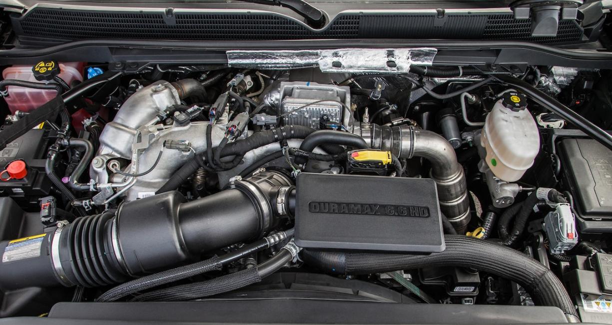 2023 GMC Sierra 2500 HD Engine